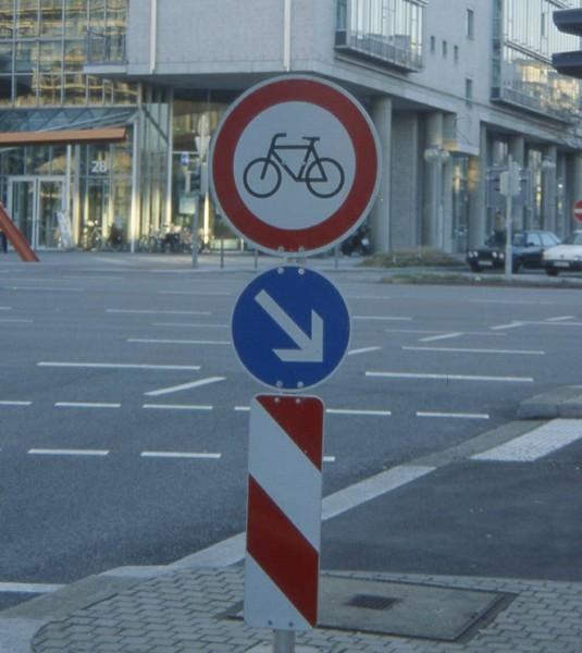 Radverkehr ausgebremst